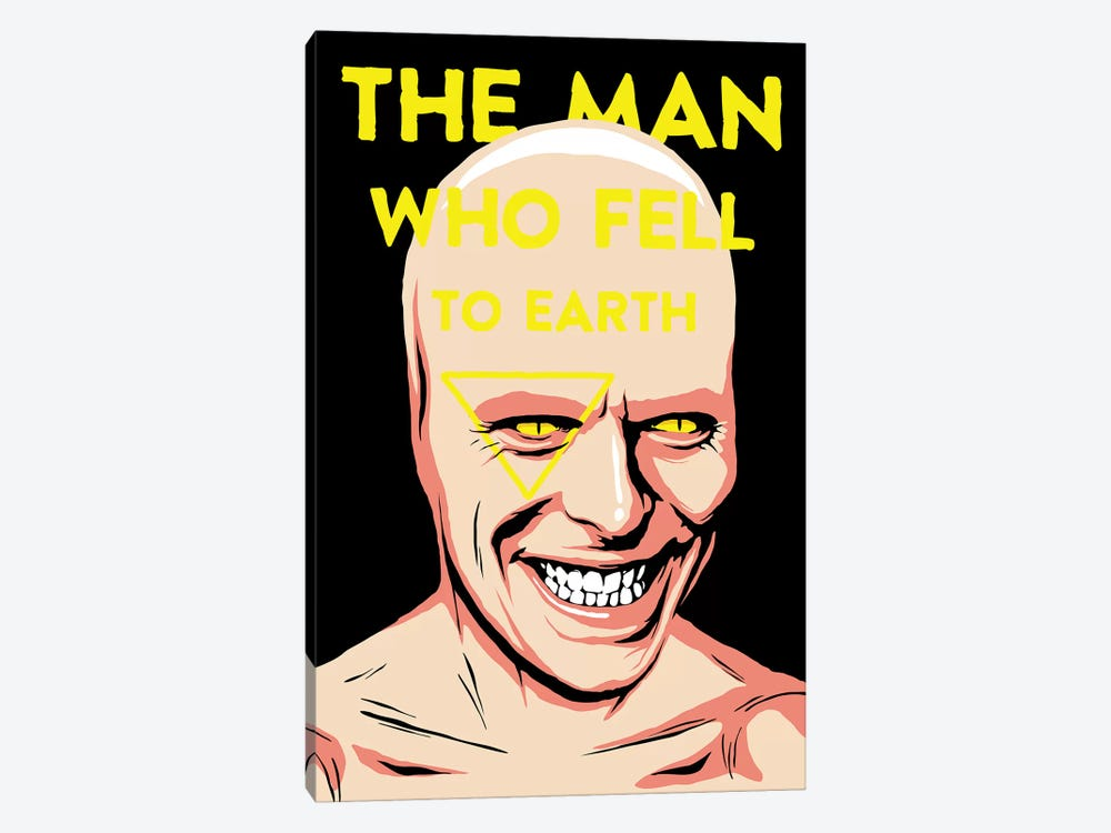 The Man Who Fell To Earth 1-piece Canvas Art