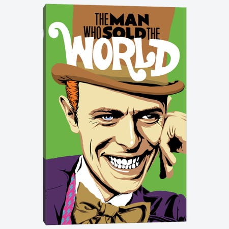The Man Who Sold The World Canvas Print #BBY155} by Butcher Billy Canvas Wall Art