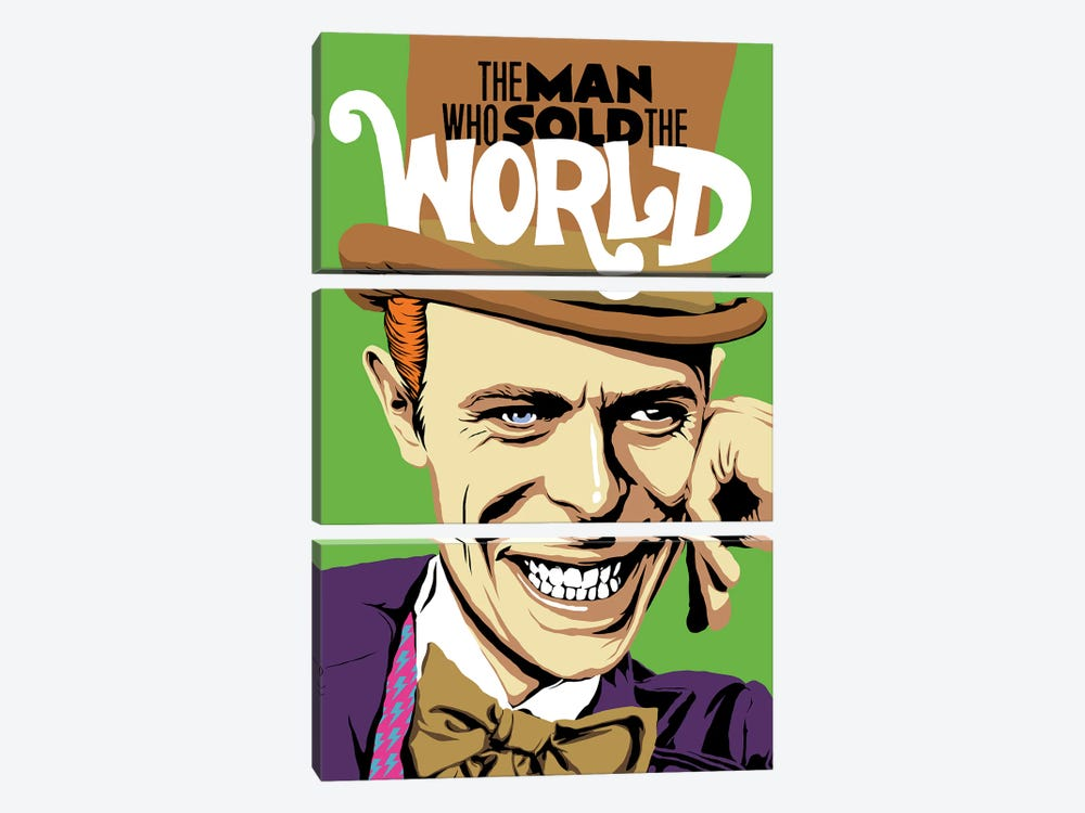 The Man Who Sold The World by Butcher Billy 3-piece Canvas Print