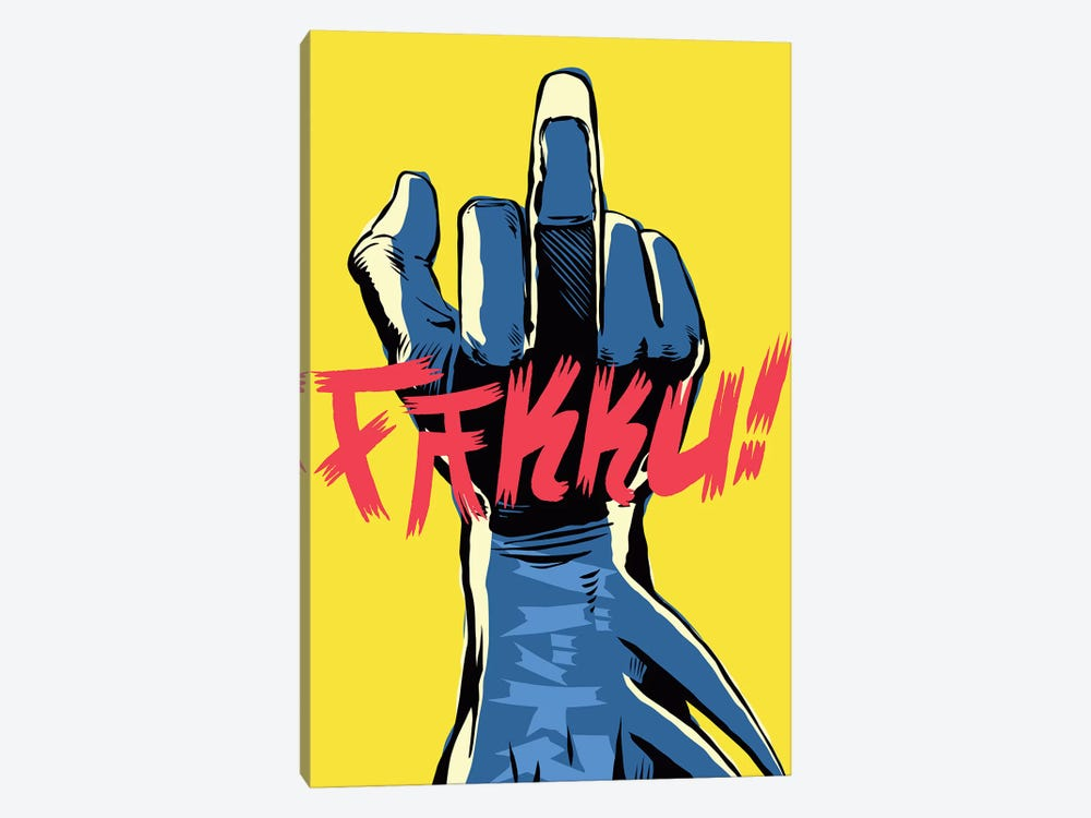 The Middle by Butcher Billy 1-piece Canvas Artwork
