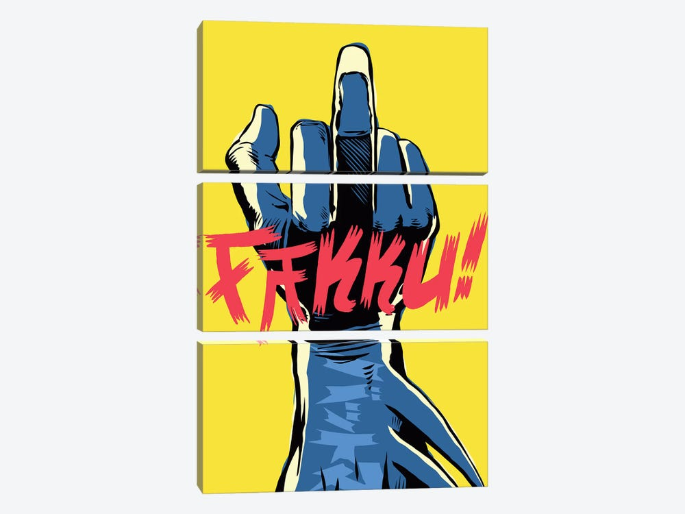 The Middle by Butcher Billy 3-piece Canvas Wall Art