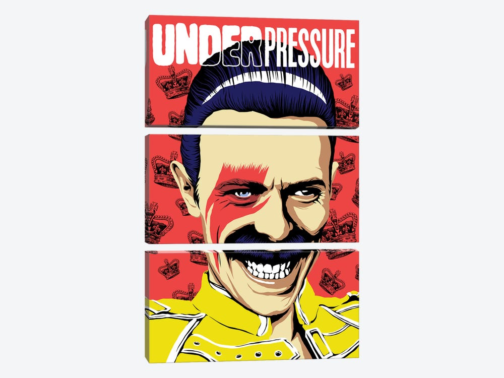 Under Pressure by Butcher Billy 3-piece Art Print