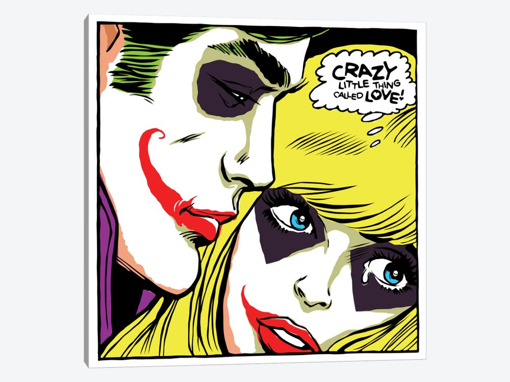 Crazy Little Thing Called Love by Butcher Billy 1-piece Canvas Art Print