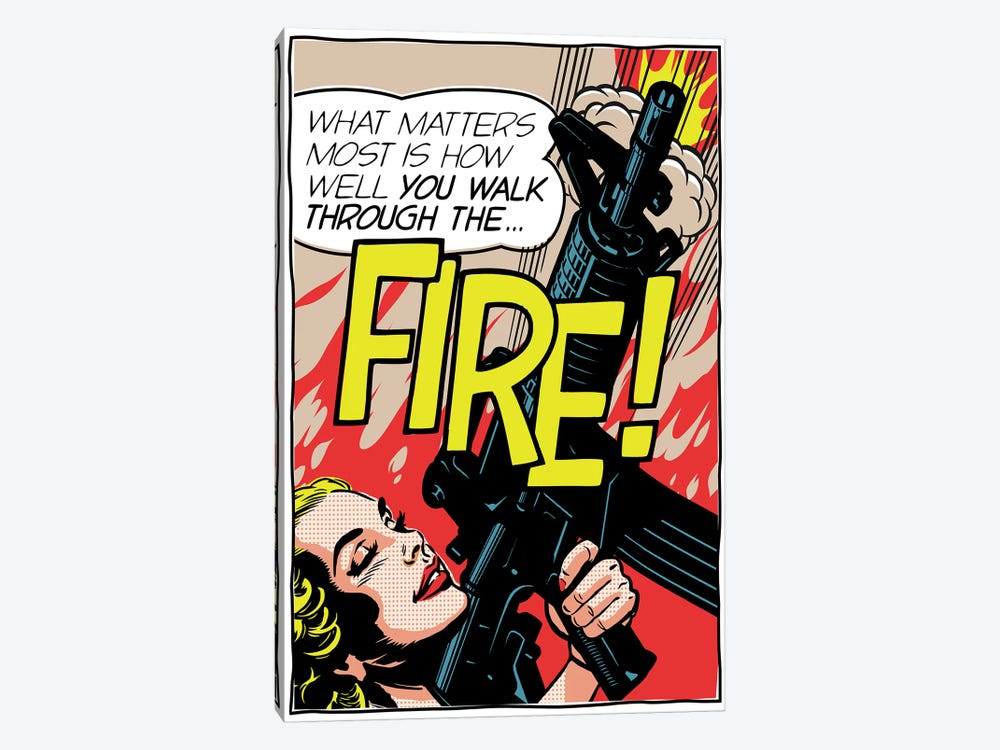 Walk Through The Fire by Butcher Billy 1-piece Canvas Print
