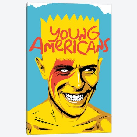 Young Americans Canvas Print #BBY163} by Butcher Billy Canvas Wall Art