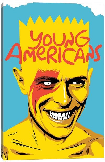 Young Americans Canvas Print #BBY163