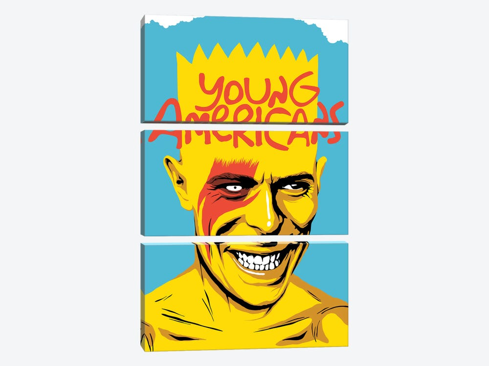 Young Americans by Butcher Billy 3-piece Canvas Wall Art