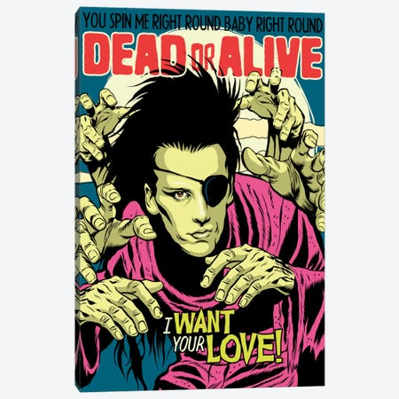 Alive Canvas Print #BBY165} by Butcher Billy Canvas Print