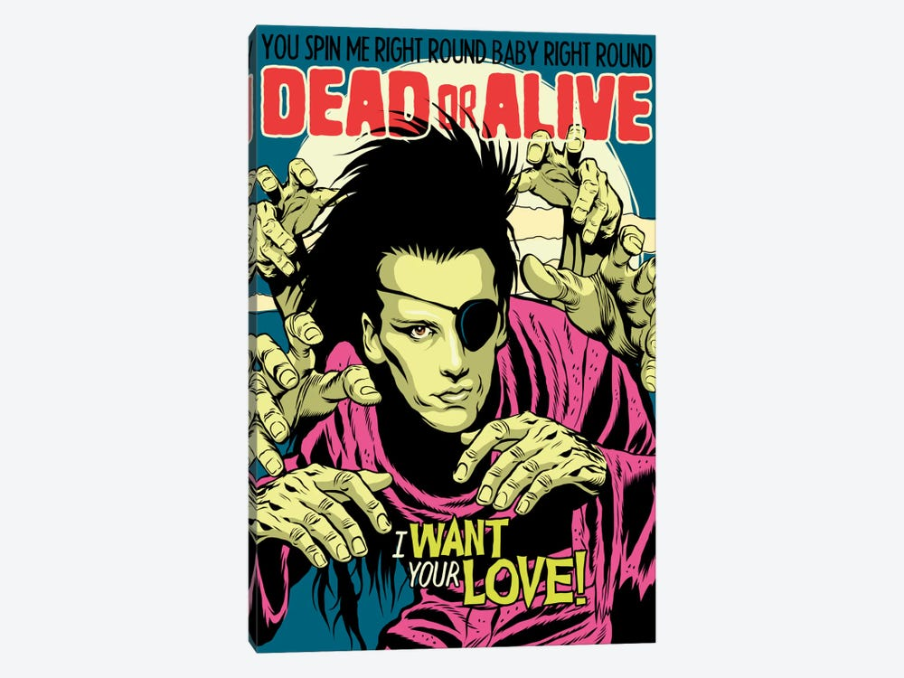 Alive by Butcher Billy 1-piece Canvas Wall Art