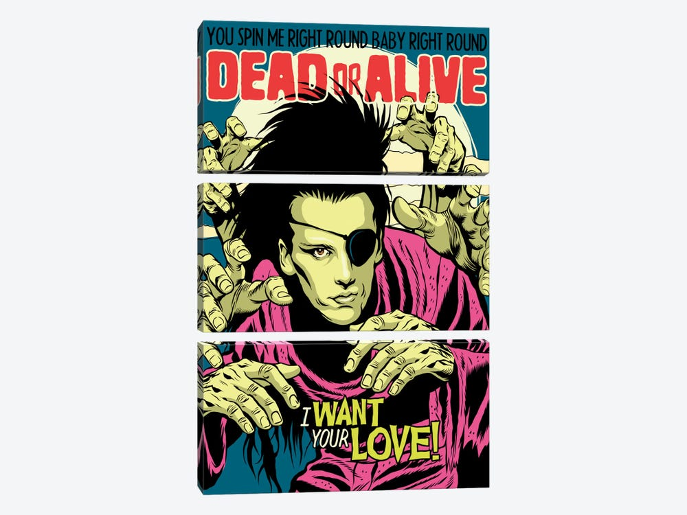 Alive by Butcher Billy 3-piece Canvas Artwork