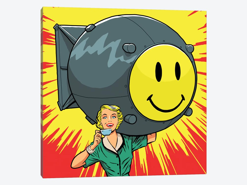 Atomic by Butcher Billy 1-piece Canvas Print