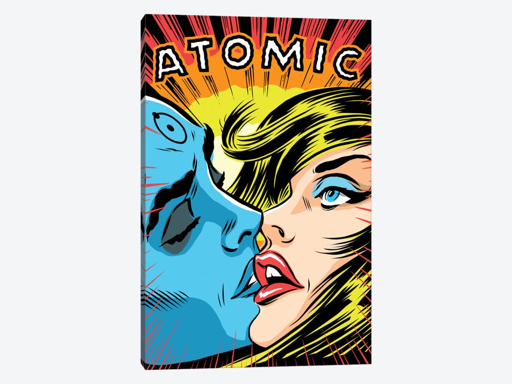 Atomic Love by Butcher Billy 1-piece Canvas Art