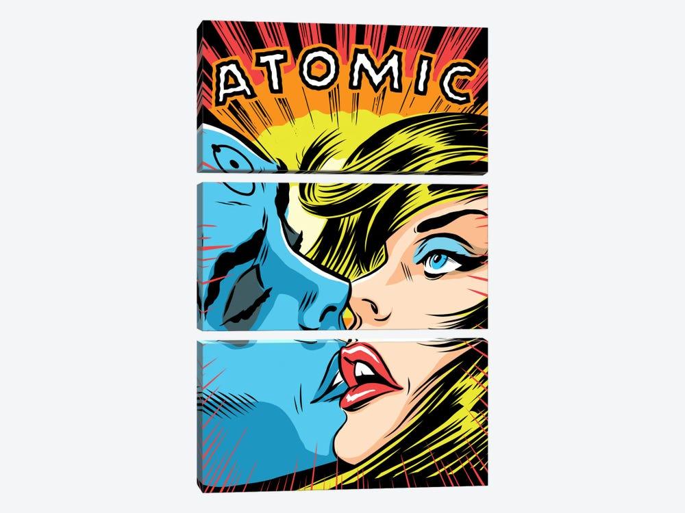 Atomic Love by Butcher Billy 3-piece Canvas Artwork