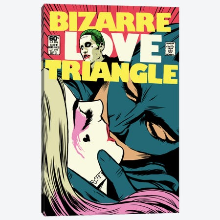 Bizarre Love Triangle - Suicide Edition Canvas Print #BBY171} by Butcher Billy Canvas Print