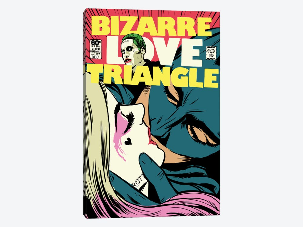 Bizarre Love Triangle - Suicide Edition by Butcher Billy 1-piece Canvas Art Print