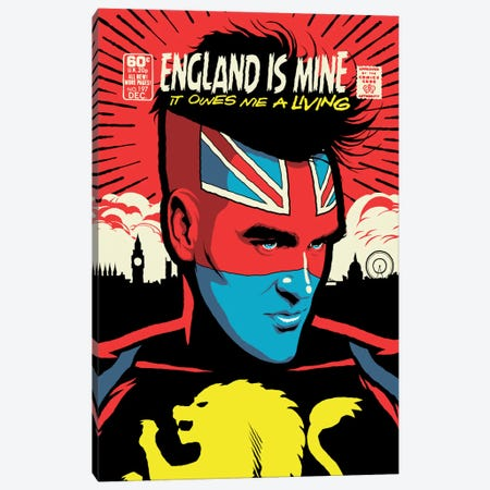 England Is Mine Canvas Print #BBY173} by Butcher Billy Art Print