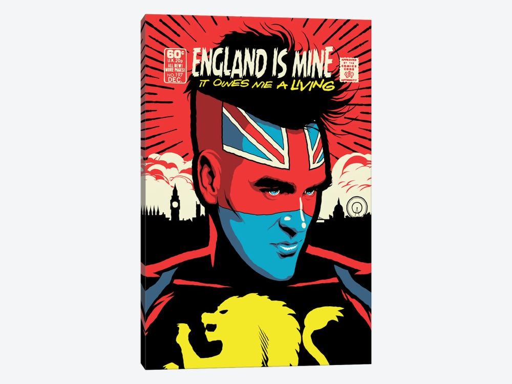 England Is Mine by Butcher Billy 1-piece Art Print