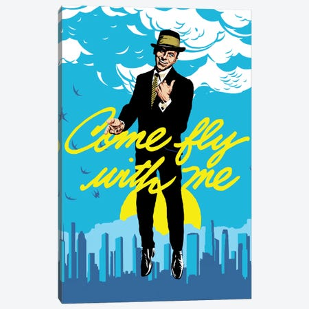 Fly Canvas Print #BBY174} by Butcher Billy Canvas Wall Art