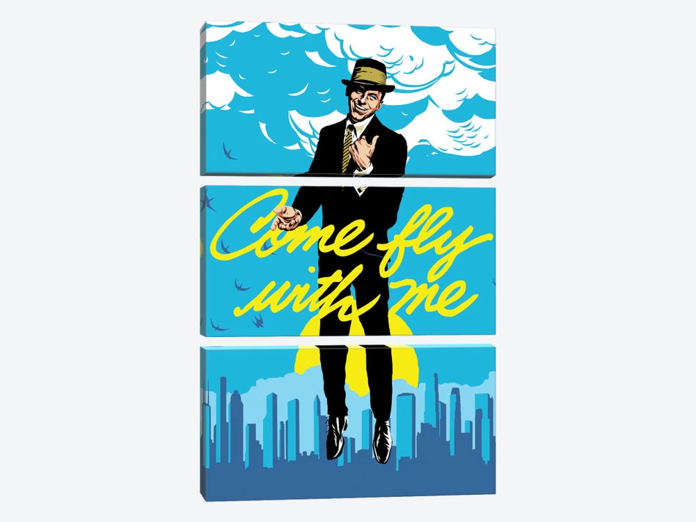 Fly by Butcher Billy 3-piece Canvas Art