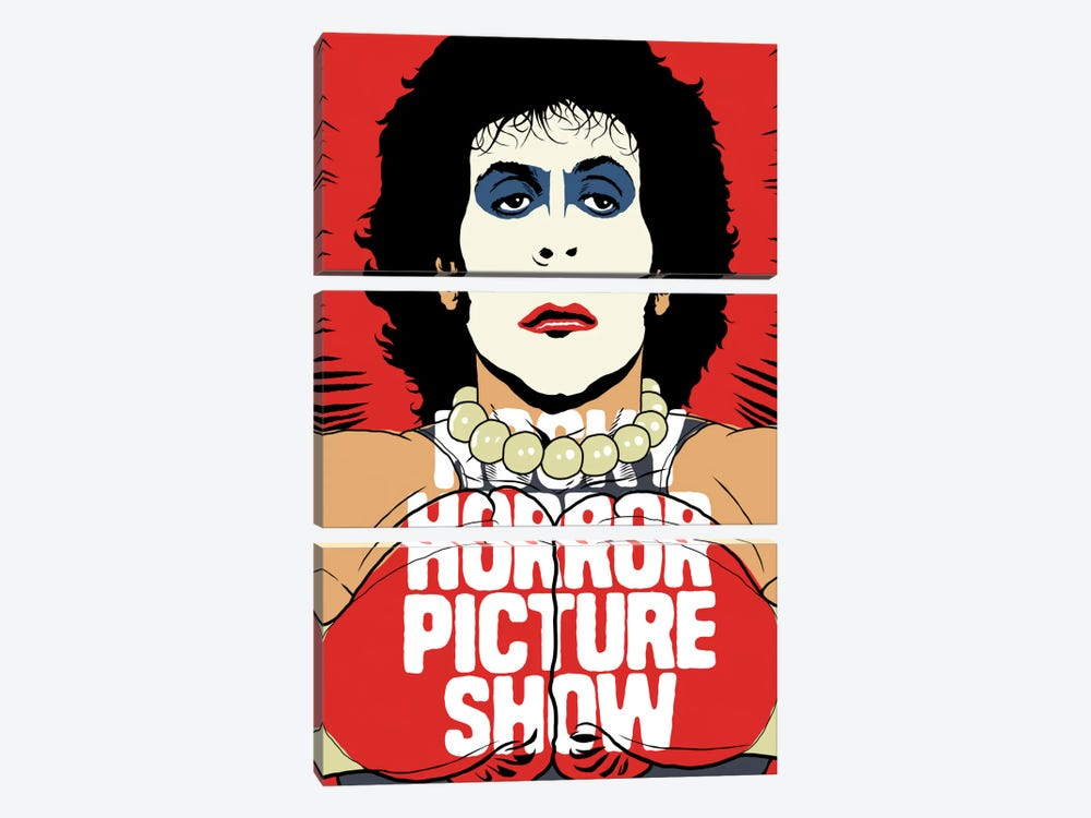 Horror Picture by Butcher Billy 3-piece Canvas Wall Art