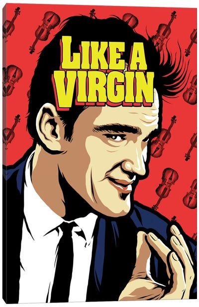 Like A Virgin Canvas Art Print
