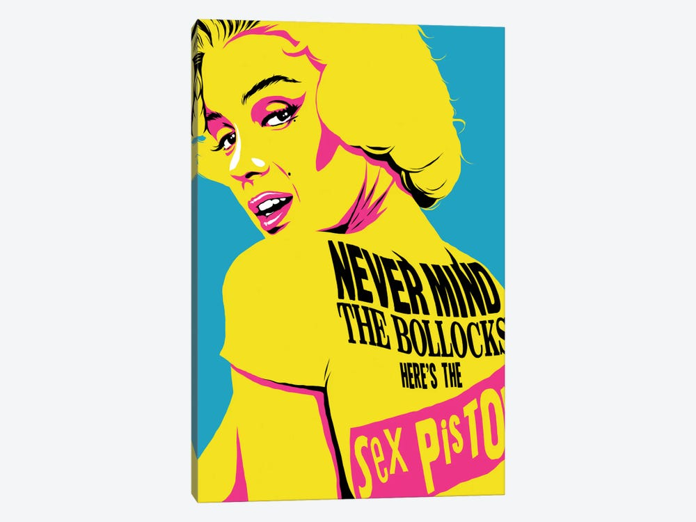 Pin-Up Pistol Art Print by Butcher Billy | iCanvas