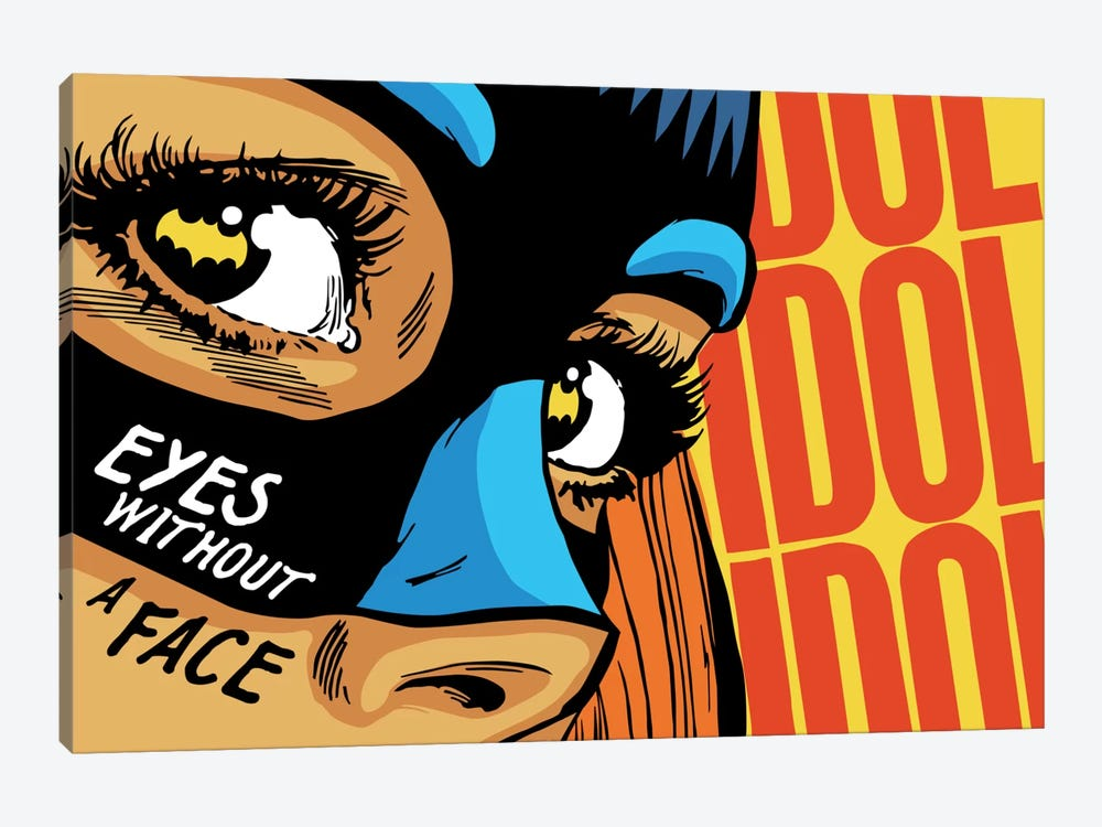 Eyes Without a Face by Butcher Billy 1-piece Canvas Artwork