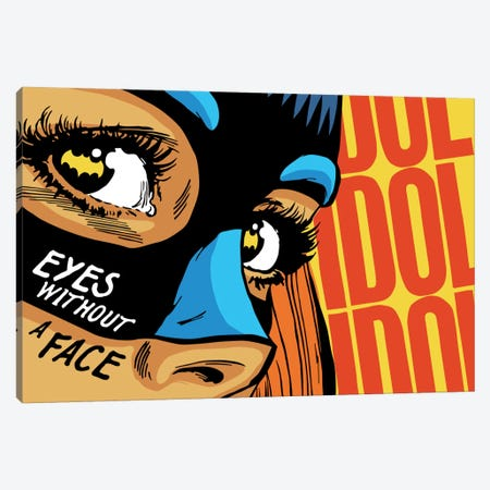Eyes Without a Face Canvas Print #BBY18} by Butcher Billy Canvas Artwork
