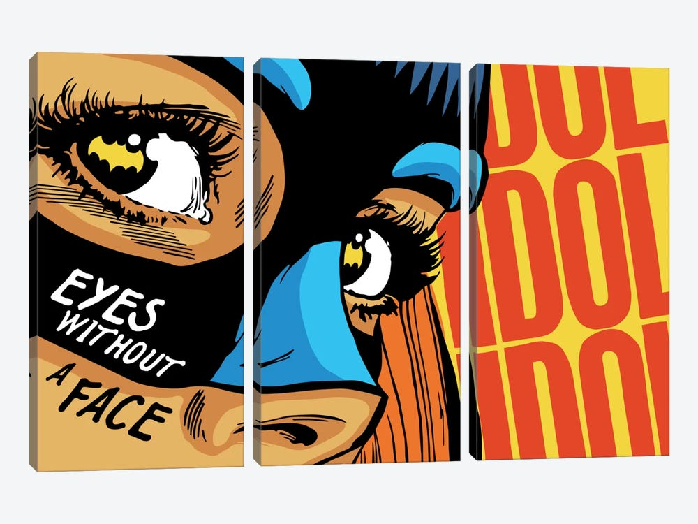 Eyes Without a Face by Butcher Billy 3-piece Canvas Artwork