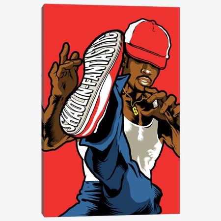 Shaolin Fantastic Canvas Print #BBY190} by Butcher Billy Art Print