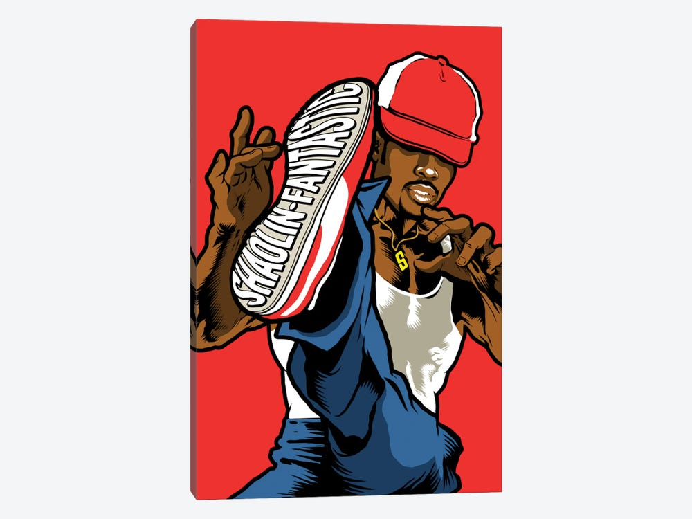 Shaolin Fantastic by Butcher Billy 1-piece Canvas Wall Art