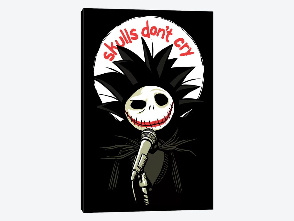 Skulls Don't Cry by Butcher Billy 1-piece Canvas Wall Art