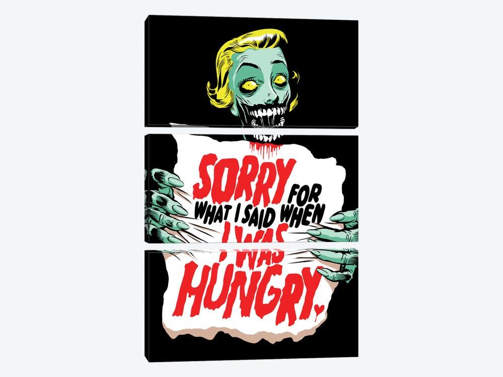 Sorry Zombie by Butcher Billy 3-piece Art Print