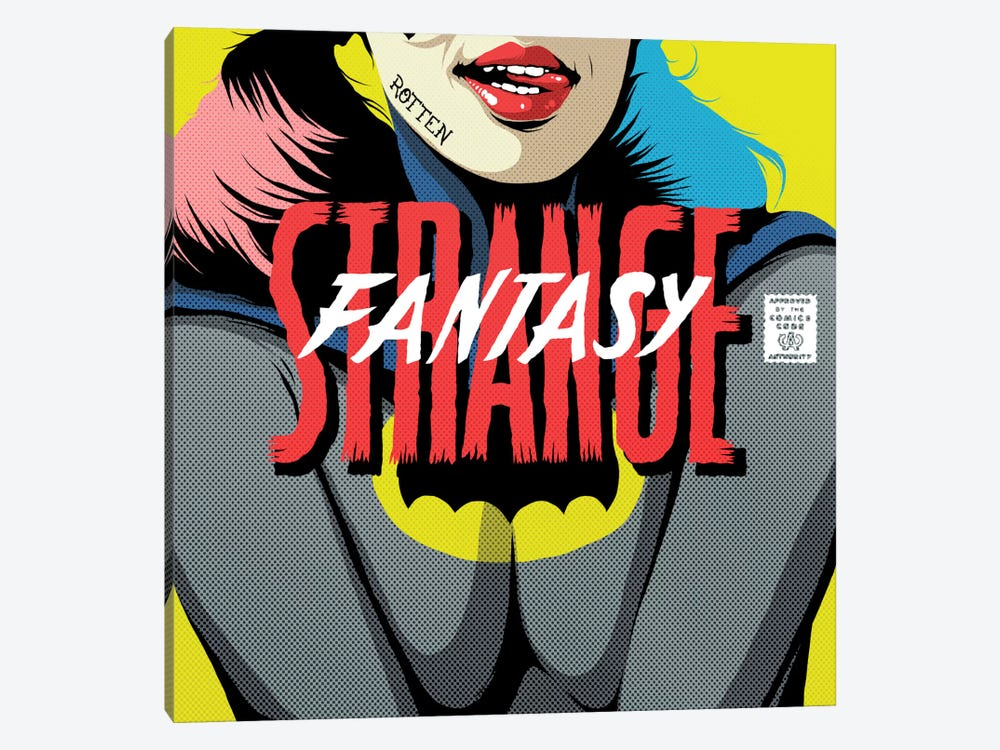 Strange Fantasy by Butcher Billy 1-piece Canvas Wall Art