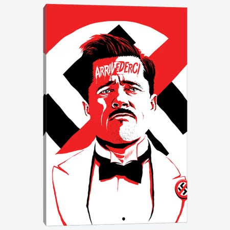 Arrivederci II Canvas Print #BBY1} by Butcher Billy Canvas Wall Art
