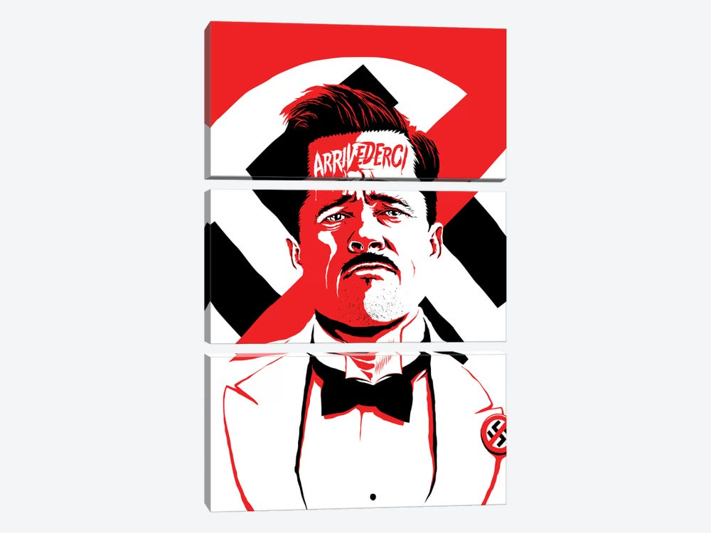 Arrivederci II by Butcher Billy 3-piece Canvas Artwork