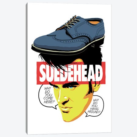 Suede Head Canvas Print #BBY200} by Butcher Billy Canvas Print