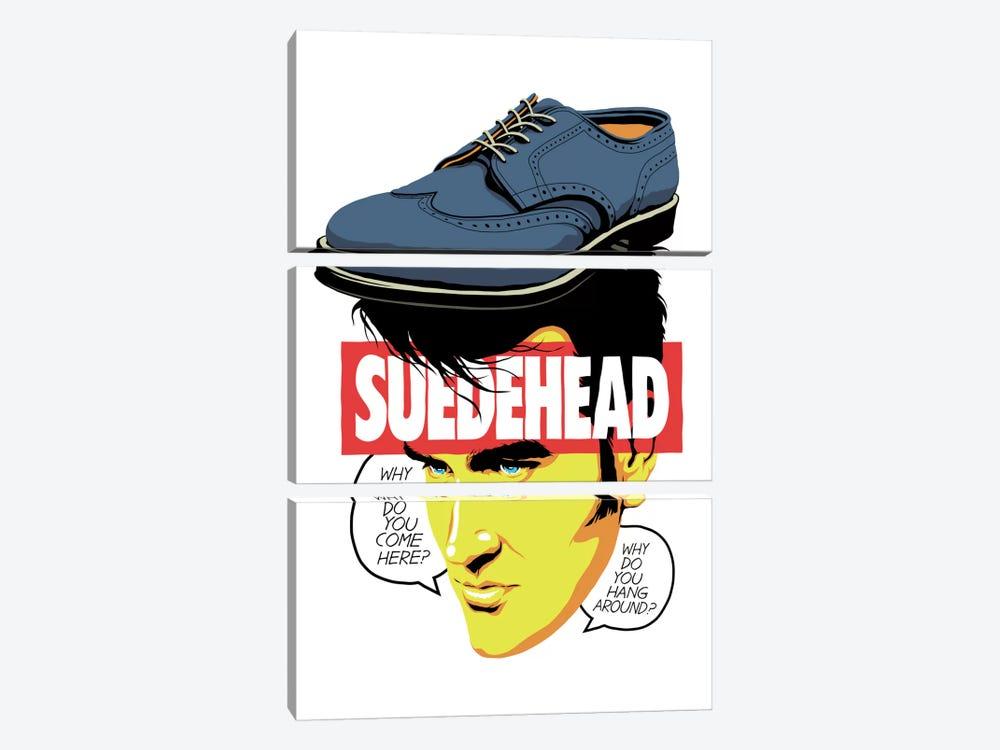 Suede Head by Butcher Billy 3-piece Art Print