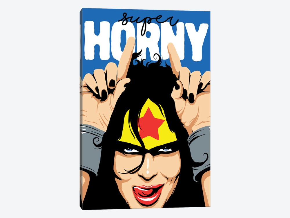 Super Horny by Butcher Billy 1-piece Canvas Artwork