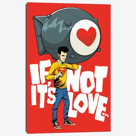 The Bomb Canvas Print #BBY202} by Butcher Billy Art Print