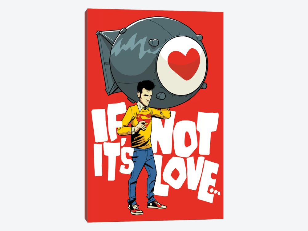 The Bomb by Butcher Billy 1-piece Canvas Print