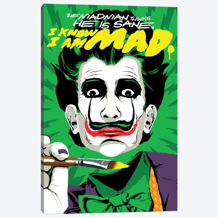 The Madman Canvas Print #BBY204} by Butcher Billy Canvas Art