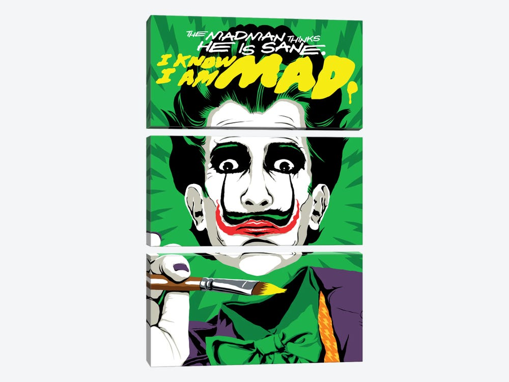 The Madman by Butcher Billy 3-piece Canvas Art Print