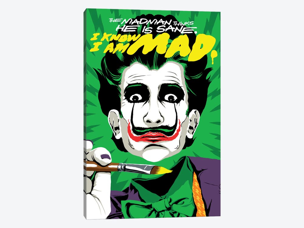 The Madman by Butcher Billy 1-piece Canvas Art Print