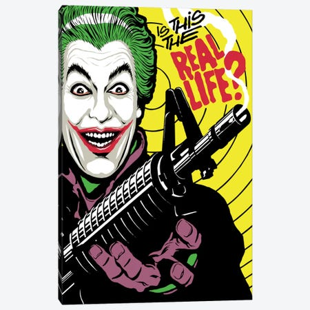 The Real Life Canvas Print #BBY206} by Butcher Billy Canvas Art