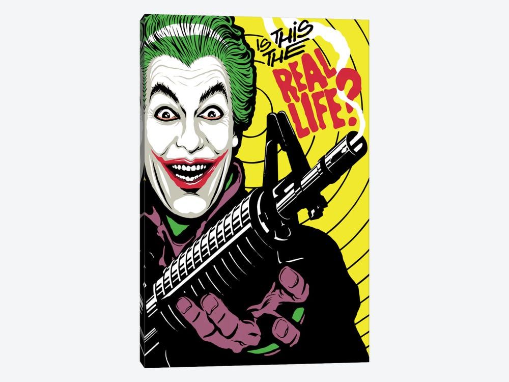 The Real Life by Butcher Billy 1-piece Canvas Art Print
