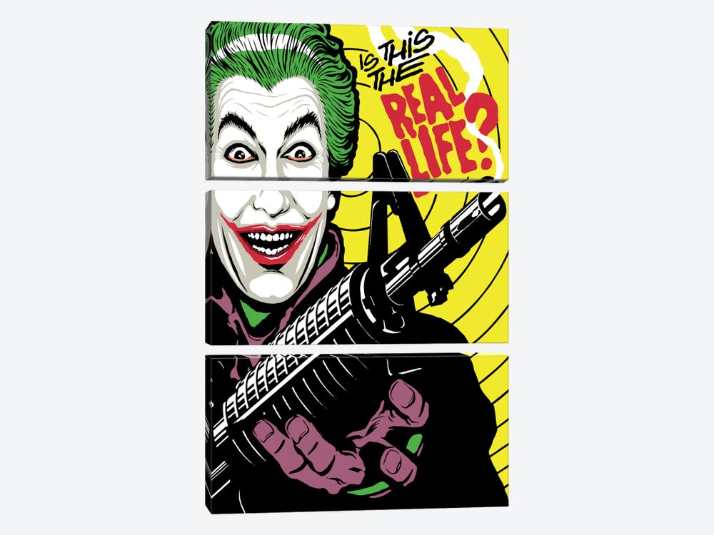The Real Life by Butcher Billy 3-piece Canvas Art Print
