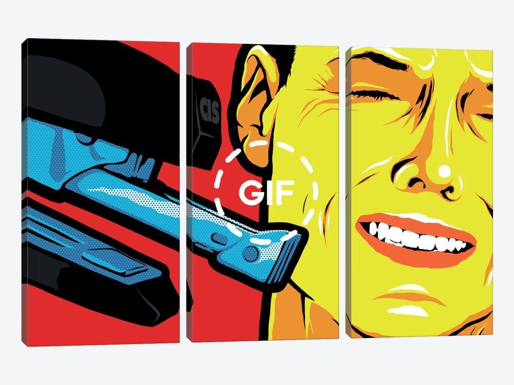 The Stapler by Butcher Billy 3-piece Canvas Art