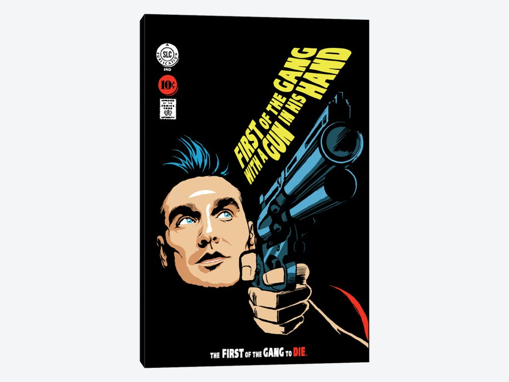 First of the Gang by Butcher Billy 1-piece Canvas Print