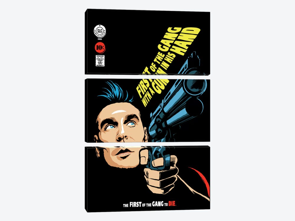 First of the Gang by Butcher Billy 3-piece Art Print